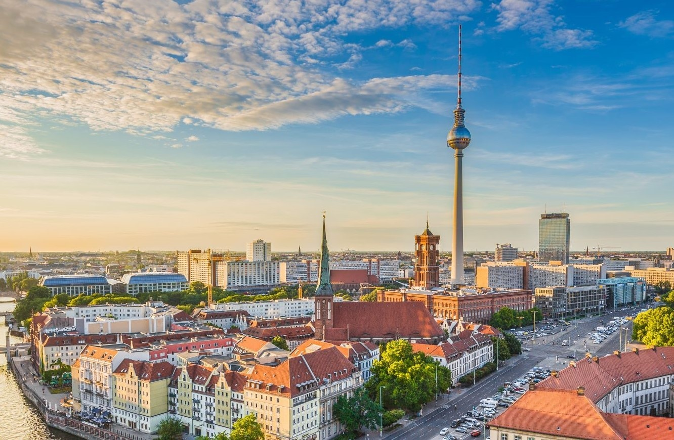 The city of Berlin